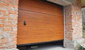 garagedeur hout