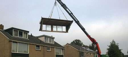 prefab dakkapel plaatsen Zoetermeer